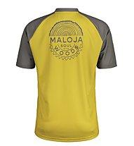Maloja StachelbeereM - maglia bici - uomo, Yellow