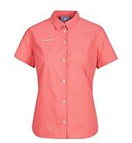 Mammut Aada Shirt - Kurzarmhemd - Damen, Red/White