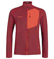 Mammut Aconcagua ML - Herren- Fleecejacke, Red
