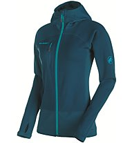 Mammut Aconcagua Pro - giacca in pile alpinismo - donna, Blue