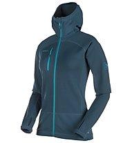 Mammut Aconcagua Pro - giacca con cappuccio sci alpinismo - donna, Blue
