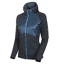 Mammut Aconcaqua Light Hooded - Softshelljacke mit Kapuze - Damen, Blue