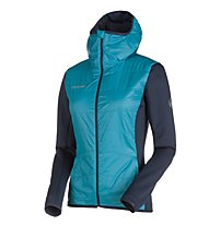 Mammut Aenergy IN - Skitourenjacke mit Kapuze - Damen, Light Blue/Blue