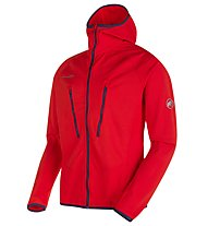 Mammut Aenergy Light - Fleecejacke mit Kapuze - Herren, Red