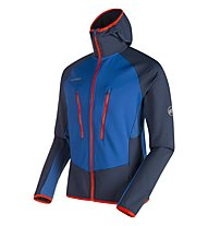 Mammut Aenergy Light - Fleecejacke mit Kapuze - Herren, Blue