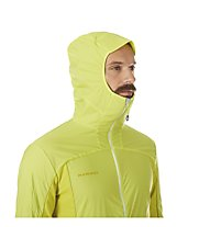 Mammut Aenergy in hooded - giacca con cappuccio - uomo, Yellow