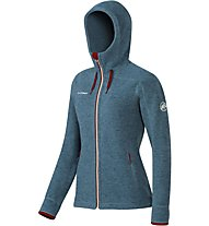 Mammut Arctic Hooded Midlayer Jacke Damen, Grey