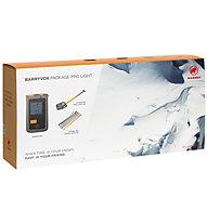 Mammut Barryvox Package Pro Light - Set Lawinenverschüttetensuchgerät + Schaufel + Sonde, Light Grey/Orange