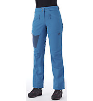 Mammut Base Jump Touring - Softshellhose Skitouren - Damen, Light Blue