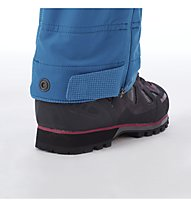 Mammut Base Jump SO - pantaloni softshell sci alpinismo - donna, Light Blue