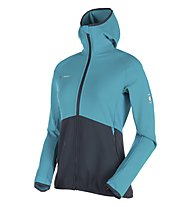 Mammut Botnica Light ML - Kapuzenjacke - Damen, Light Blue/Blue