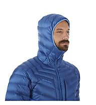 Mammut Broad Peak in Hooded - Daunenjacke mit Kapuze - Herren, Blue