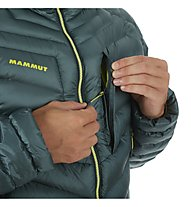 Mammut Broad Peak in Hooded - Daunenjacke mit Kapuze - Herren, Green