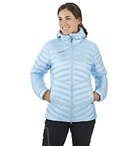 Mammut Broad Peak in Hooded - giacca con cappuccio - donna, Light Blue
