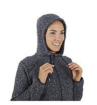 Mammut Chamuera ML - giacca in pile con cappuccio - donna, Blue