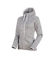 Mammut Chamuera ML - giacca in pile con cappuccio - donna, Grey
