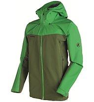 Mammut Crater Hs Hooded Herren Winterjacke mit Kapuze, Green