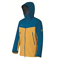 Mammut Crater Giacca in GORE-TEX, Malt/Dark Cyan