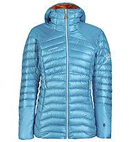 Mammut Eigerjoch Advanced IN Hooded - Alpinjacke - Damen, Light Blue