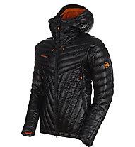 Mammut Eigerjoch Advanced - giacca con cappuccio - uomo, Black/Orange