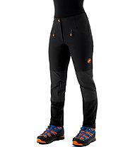 Mammut Eisfeld Light Softshell - pantaloni alpinismo - donna, Black