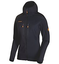 Mammut Eiswand Advanced Hooded - giacca in pile - donna, Black