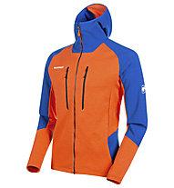 Mammut Eiwand Advanced ML Hooded - Kapuzenjacke - Herren, Orange/Blue