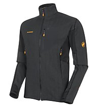 Mammut Eiswand Guide - giacca in pile - uomo, Black