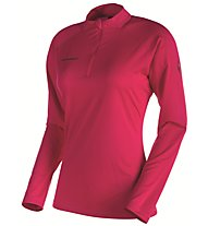 Mammut Illiniza Light Zip Pull - langes Funktionsshirt - Damen, Pink