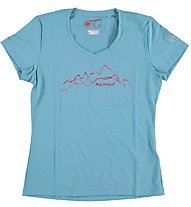 Mammut Kathy T-Shirt Damen, Light Pacific