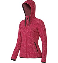 Mammut Kira Tour ML Hooded Fleecejacke Damen, Red
