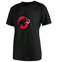 Mammut Logo - T-Shirt Klettern - Herren, Black