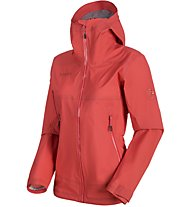 Mammut Masao Light HS - giacca hardshell alpinismo - donna, Red
