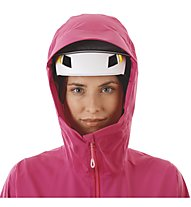 Mammut Masao Light HS Hooded - giacca hardshell - donna, Pink