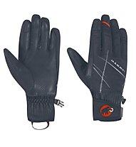 Mammut Merit Pulse Gloves - Guanti Alpinismo, Black/Highway