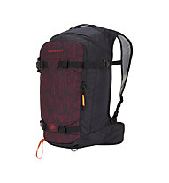 Mammut Nirvana 25 - zaino freeride, Dark Red/Black
