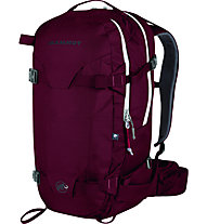 Mammut Nirvana Pro S 30 L - zaino freeride, Dark Red