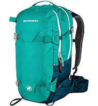 Mammut Nirvana Pro S 30 L - zaino freeride, Light Blue