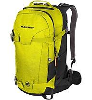 Mammut Nirvana Ride 22 - zaino scialpinismo/freeride, Yellow