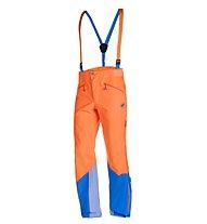 Mammut Nordwand Pro Hs - Skitourenhose - Herren, Orange/Light Blue