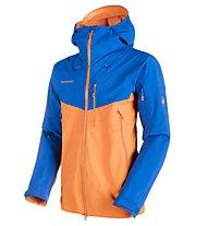 Mammut Nordwand Pro - Hardshelljacke Extrem-Alpinisten - Herren, Orange/Light Blue