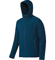 Mammut Polar Hooded ML Jacket Giacca in pile, Blue