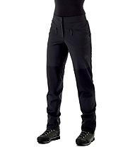 Mammut Pordoi - pantaloni alpinismo - donna, Black