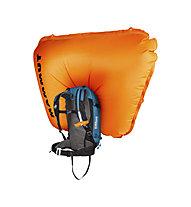 Mammut Ride Removable Airbag 3.0 - 30 L - zaino airbag, Light Blue