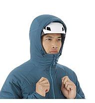 Mammut Rime In Flex - giacca con cappuccio - uomo, Light Blue