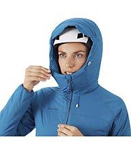 Mammut Rime in Flex Hooded - giacca con cappuccio - donna, Blue