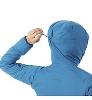Mammut Rime in Flex Hooded - Kapuzenjacke - Damen, Blue