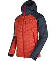 Mammut Rime Pro IN - giacca con cappuccio alpinismo - uomo, Red/Blue