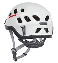 Mammut Rock Rider - casco arrampicata, White/Smoke