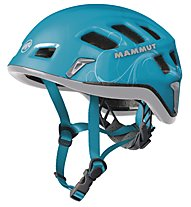 Mammut Rock Rider - casco arrampicata, Ocean/Iron